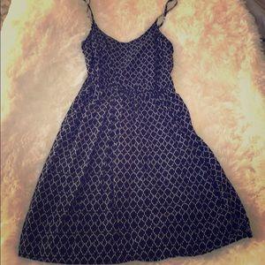 Old Navy black pattern dress / coverup - XS